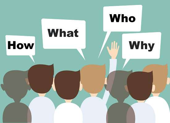 asking questions during presentations